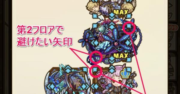 リュエダゴンの魔窟 最下層(第5層)攻略のおすすめモンスター