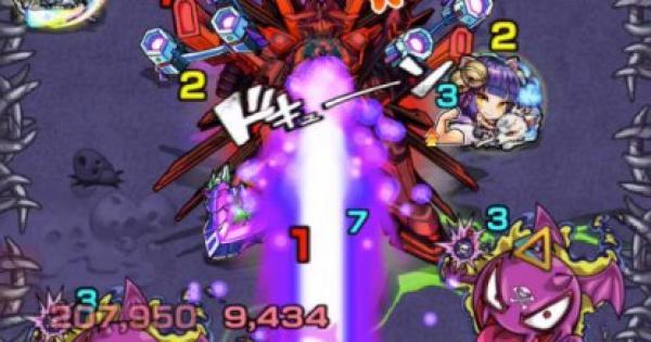 【モンスト】エールソレイユX【EX】攻略適正キャラランキング|Xの覚醒2