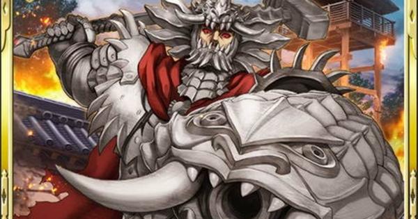 【戦国炎舞】グルンベルドSR16の性能 | 炎の巨竜【戦国炎舞-KIZNA-】