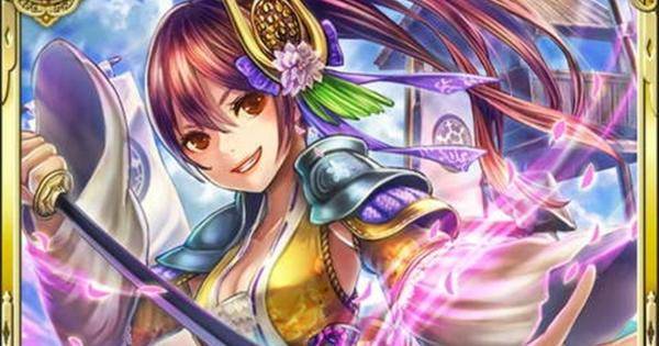 【戦国炎舞】長宗我部盛親SR15の性能   遊戯戦姫【戦国炎舞-KIZNA-】