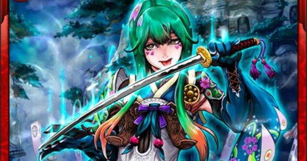 【戦国炎舞】細川忠興N9の性能   狂瀾将姫【戦国炎舞-KIZNA-】