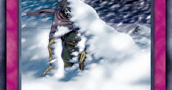 【遊戯王デュエルリンクス】猛吹雪の評価と入手方法
