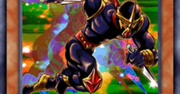 【遊戯王デュエルリンクス】速攻の黒い忍者の評価と入手方法