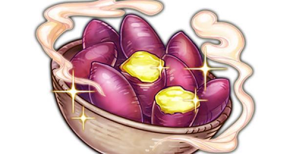 ラムの蒸かし芋の属性とレアリティ