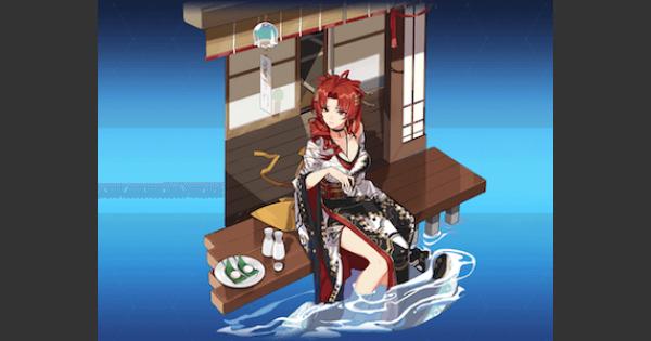 【崩壊3rd】姫子・七夕晩酌(聖痕)の評価とスキル