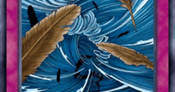 【遊戯王デュエルリンクス】砂塵の大竜巻の評価と入手方法