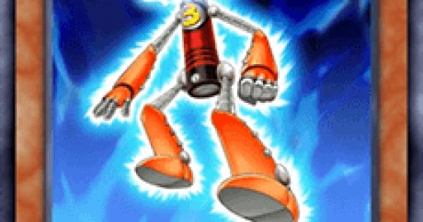 【遊戯王デュエルリンクス】電池メン単三型の評価と入手方法