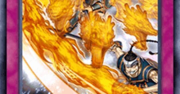 【遊戯王デュエルリンクス】炎舞-「天璇」の評価と入手方法