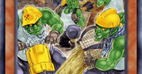 【遊戯王デュエルリンクス】ゴブリン穴埋め部隊の評価と入手方法