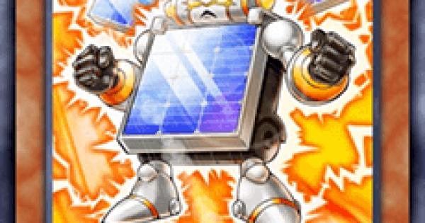 【遊戯王デュエルリンクス】太陽電池メンの評価と入手方法