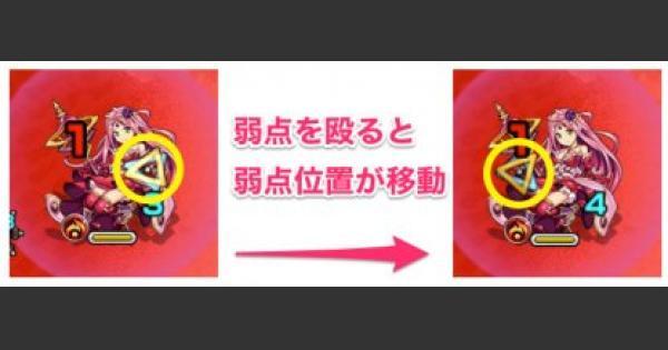 シュリンガーラ【轟絶・究極】の弱点仕様と効率の良い攻撃方法