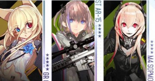 【ドルフロ】銃種別の特徴まとめ【ドールズフロントライン】