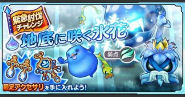 【ファンタジーライフオンライン】「地底に咲く氷花」氷王デーモンプラント攻略【FLO】