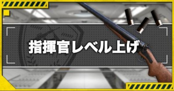 【ドルフロ】指揮官レベルの効率的な上げ方【ドールズフロントライン】