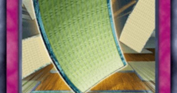 【遊戯王デュエルリンクス】畳返しの評価と入手方法