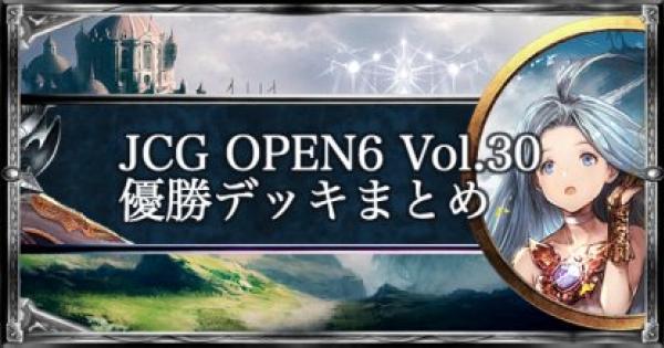 【シャドバ】JCG OPEN6 Vol.30 ローテ大会優勝者デッキ紹介【シャドウバース】
