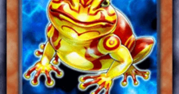 【遊戯王デュエルリンクス】鬼ガエルの評価と入手方法