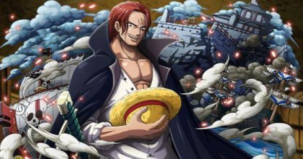 【トレクル】四皇 赤髪のシャンクス(黒衣/フェス限)の評価|超進化 【ワンピース トレジャークルーズ】