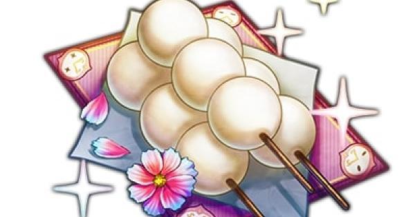 お月見団子(白玉)の属性とレアリティ