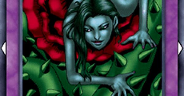 【遊戯王デュエルリンクス】バラに棲む悪霊の評価と入手方法