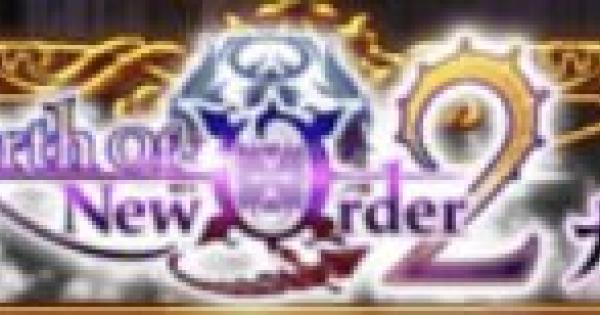 【黒猫のウィズ】Birth Of New Order2ガチャシミュレーター