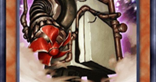 【遊戯王デュエルリンクス】スクラップゴーレムの評価と入手方法