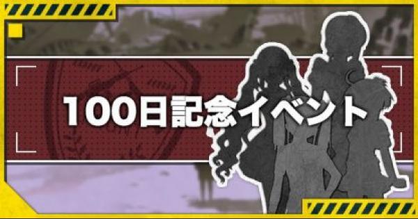 【ドルフロ】リリース100日記念イベントまとめ【ドールズフロントライン】