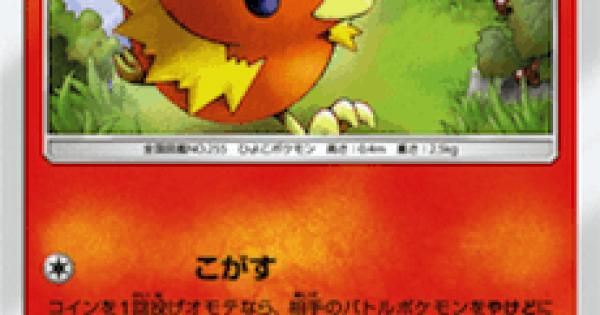 【ポケモンカード】アチャモ(SM8b)のカード情報【ポケカ】