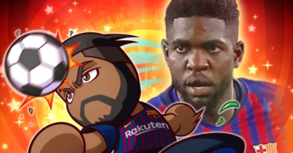 【パワサカ】[18-19]ウンティティの評価とイベント|FCバルセロナ【パワフルサッカー】