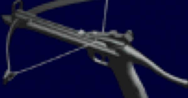 【バイオ2】ボウガンの性能と入手方法【バイオハザード2】