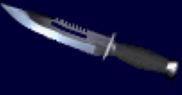 【バイオ2】コンバットナイフの性能と入手方法【バイオハザード2】