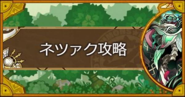 【サモンズボード】【神】樹の落園(ネツァク)攻略のおすすめモンスター