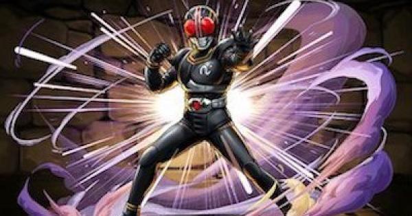 【パズドラ】BLACK(ブラック)の評価と使い道|仮面ライダーコラボ