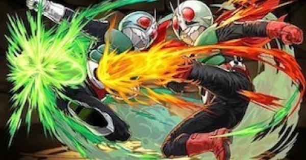 【パズドラ】新1号&新2号(旧1号)の評価と使い道|仮面ライダーコラボ