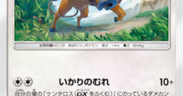 【ポケモンカード】ケンタロス(SM9)のカード情報【ポケカ】