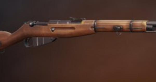 『M1891 モシンナガン』登場!新武器の特徴と強さは?
