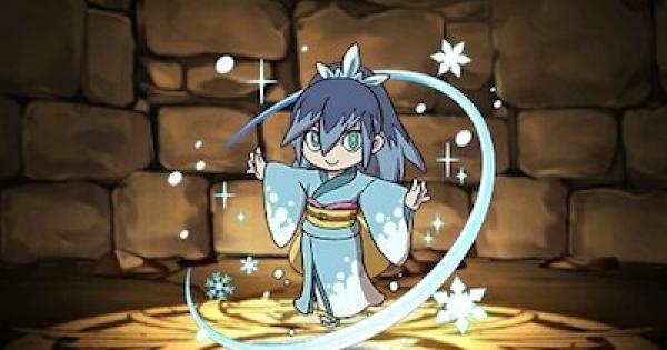 【パズドラ】ふぶき姫の評価と使い道 妖怪ウォッチコラボ