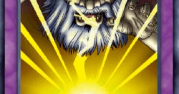【遊戯王デュエルリンクス】雷神の怒りの評価と入手方法