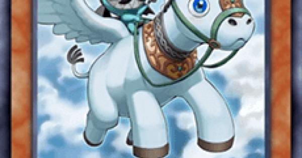 【遊戯王デュエルリンクス】魔轟神獣ペガラサスの評価と入手方法
