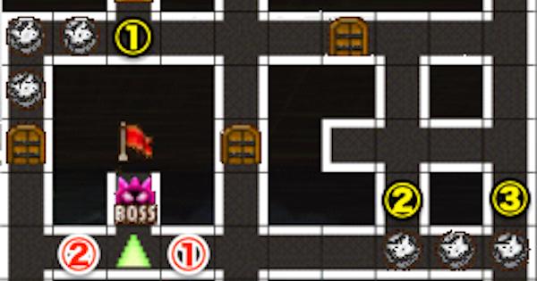 【黒猫のウィズ】黒ウィズラビリンス2超高難度「2階」攻略&デッキ構成