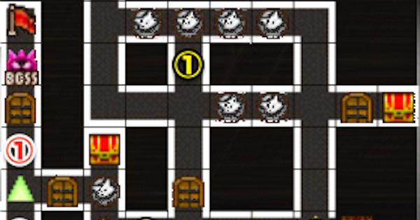 【黒猫のウィズ】黒ウィズラビリンス2超高難度「3階」攻略&デッキ構成