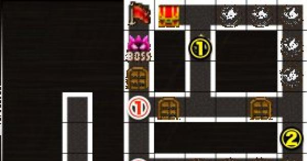 【黒猫のウィズ】黒ウィズラビリンス2超高難度「6階」攻略&デッキ構成