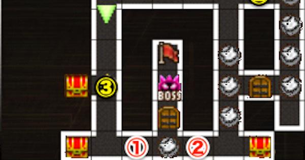 【黒猫のウィズ】黒ウィズラビリンス2超高難度「7階」攻略&デッキ構成