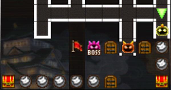 【黒猫のウィズ】黒ウィズラビリンス2超高難度「8階」攻略&デッキ構成