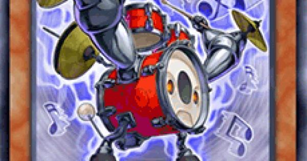 【遊戯王デュエルリンクス】音響戦士ドラムスの評価と入手方法