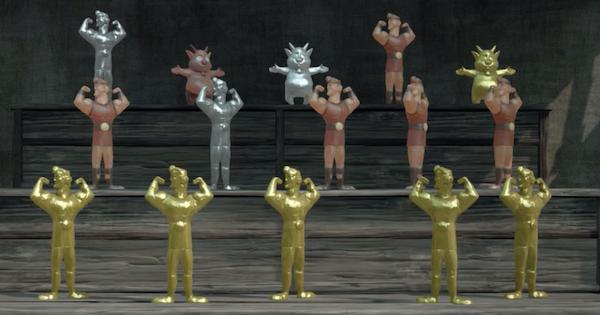 【キングダムハーツ3】黄金のヘラクレス人形の簡単な集め方|オリンポス人形【KH3】