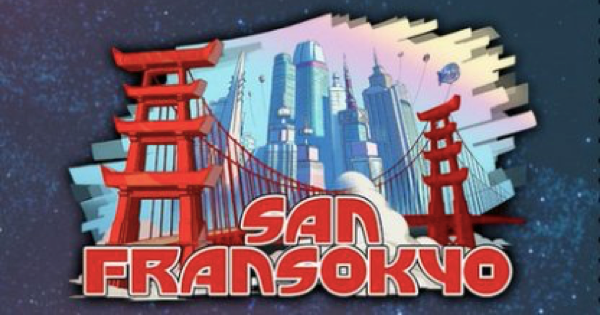 【キングダムハーツ3】サンフランソウキョウのマップ|幸運のマークと宝箱一覧【KH3】