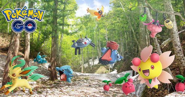 【ポケモンGO】シンオウ地方の新ポケモンが追加!新しい技も実装
