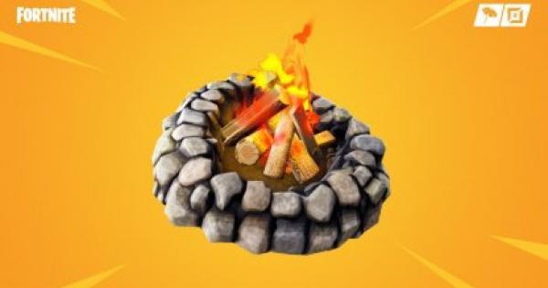 【フォートナイト】囲いの焚火のマップ場所と性能【FORTNITE】