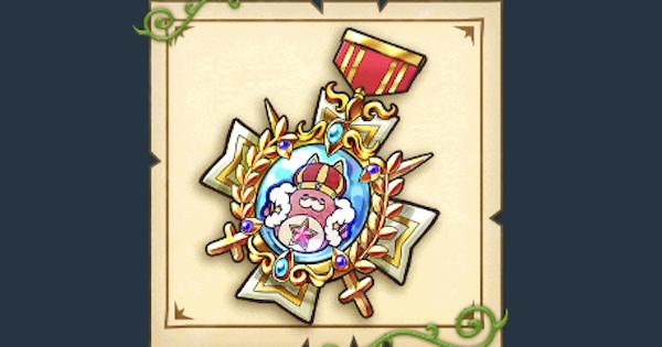 【白猫】キング星たぬきの勲章の効果とおすすめの組み合わせ